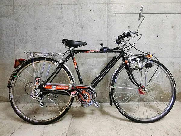 スーパーカー自転車1