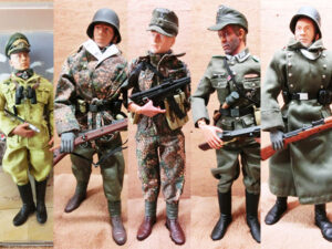 ミリタリーフィギュアドイツ兵を買取致しました。GIジョー